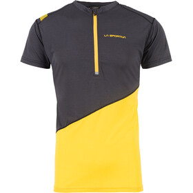 La Sportiva Limitless T-Shirt Uomo, black/yellow